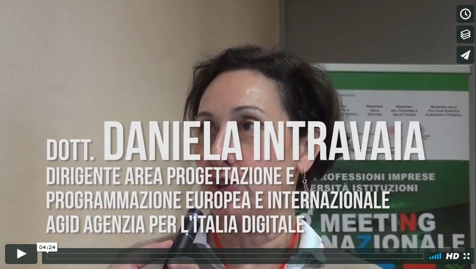 Il lavoro dell'Agenzia per l'Italia Digitale – Daniela Intravaia